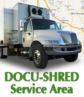 Docu Shred Inc Service Area Grand Forks Fargo Bemidji Detroit Lakes